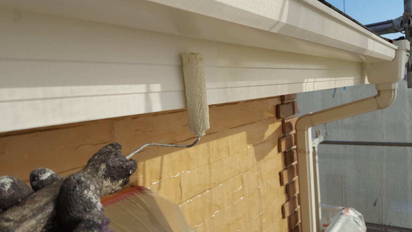 厚木市破風板塗装